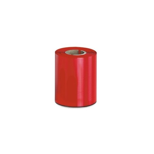 Cinta Cera Rojo 110mm x 450m