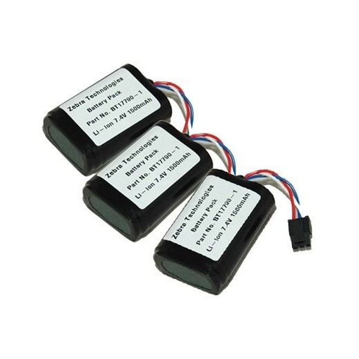 Caja de 10 baterías Li-ion - RW 420 Print Station P4T/RP4T