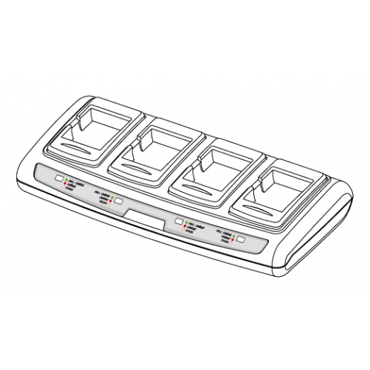 Cargador Quad de baterías - EM220II