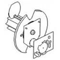 Kit eje de rebobinado (permite rebobinar y despegar / no se puede usar con el cúter)