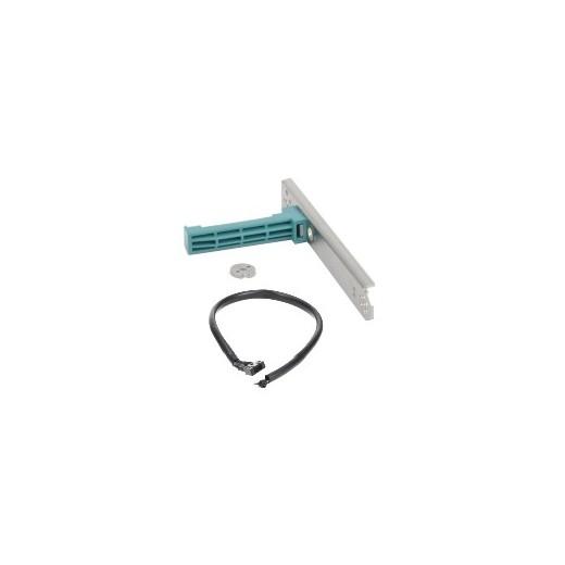 Kit soporte para eje de rodillo, para rollos de núcleo 12 mm