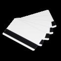 PVC Blanco + UHF, RFID + Banda Magnética 0,76mm