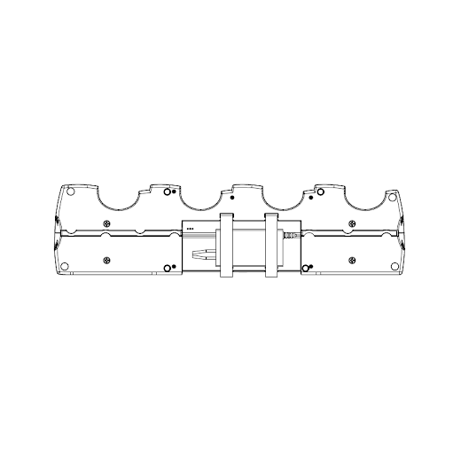 Kit de montaje Estación de carga EC4 - QLn