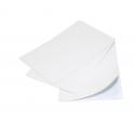 Tarjeta Blanca PVC 0'25mm Dorso Adhesivo