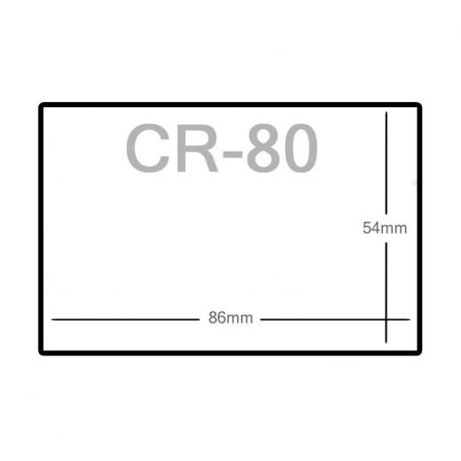 Ticket tamaño CR80 - TTP Serie 2100
