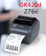 Impresora de sobremesa GK420d