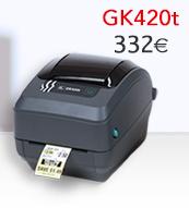 Impresora de escritorio GK420t