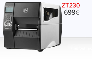 Impresora industrial ZT230