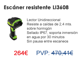 Escáner resistente LI3608
