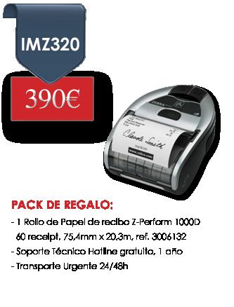 Oferta Zebra iMZ320